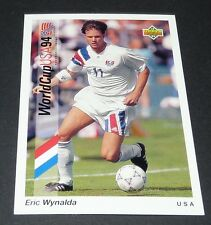 ERIC WYNALDA SAARBRÜCKEN US SOCCER FOOTBALL CARD UPPER USA 94 PANINI 1994 WM94