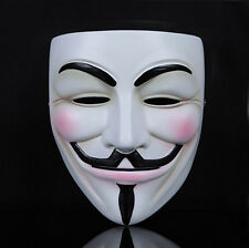 Vendetta Anonymous Film Guy Fawkes Face Mask Fancy for Halloween Costume Party