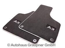 Audi Original Premium Textilfussmatten Velours Fussmatten vorn A3 8P Sportback