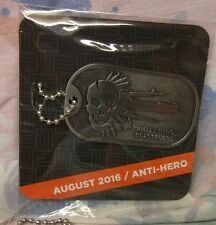(o.o) DOG TAG / MAGNETIC LAPEL PIN - ANTI-HERO CRATE PIN - LOOT CRATE DX