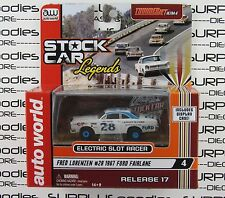 Auto World Stock Car Legends Rel 17 FRED LORENZEN 1967 FORD FAIRLANE Slot Car