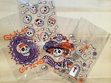 Day of the Dead Halloween Skulls Cello Goodie Bags