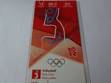 London 2012 Olympic Games VOLLEYBALL ticket 12th Aug BRONZE MEDAL !