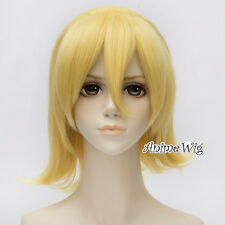 Yellow Blonde VOCALOID Kagamine RIN Short 30CM Anime Cosplay Heat Resistant Wig