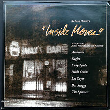 US import! John Barry INSIDE MOVES Film Soundtrack OST LP '80 Eagles Lady Sylvia