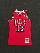 NBA Chicago Bulls 1990 Michael Jordan Authentic Jersey #12 Mitchell & Ness Small