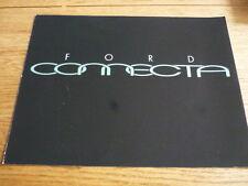 FORD  CONNECTA CONCEPT CAR BROCHURE 1991  jm