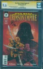Star Wars Crimson Empire 2 CGC SS 9.6 Dorman Mara Jade Force Awakens Vader 98