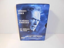 DVD - Clint Eastwood Collection Box 2 - 3 DVD Absolute Power / Wahres Verbrechen