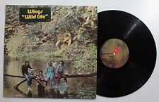PAUL McCARTNEY Wings Wild Life LP in open shrink with HYPE sticker - Sterling LH
