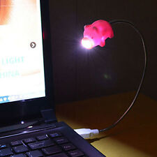 USB Rechargeable Pig LED Table DeBed Lamp Reading Light Night Light KI