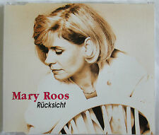 "EUROVISION : MARY ROOS - 4 TRACKS MAXI CD ""RÜCKSICHT"""