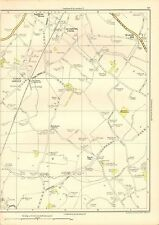 1935 LANCASHIRE ORIGINAL MAP- TOWN GREEN, AUGHTON PARK, ROYAL OAK, SCARTH HILL