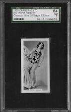 1939 Carreras Glamour Girls #10 Irene Hervey SGC 84 NM $15