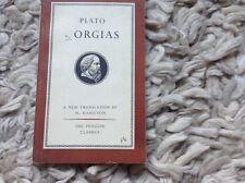 Plato Gorgias, trans W. Hamilton