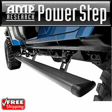 AMP PowerStep Retractable Running Board for 07-17 Jeep Wrangler JK Unlimited 4dr