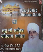 PUNJABI CD - JAP JI SAHIB - REHRAAS SAHIB BY PROF. SATNAM SINGH JI SETHI