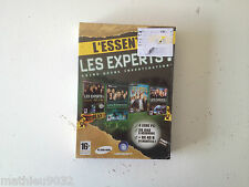 Coffret 4 jeux l'essentiel Les Experts CSI Las vegas/Miami NEUF/NEW PC FR
