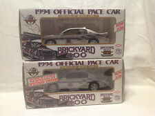 1994 OFFICIAL PACE CAR (SET OF 2) BRICKYARD 400 CHEVY MONTE CARLO 1:25