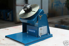 "BY-10 Rotary Welding Positioner Turntable Mini 2.5"" 3 Jaw Lathe Chuck 110V/ 220V"