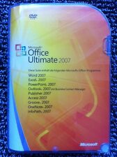 Microsoft Office Ultimate 2007, Word,Excel,Access,Outlook,Publisher,PowerPoint,D