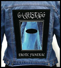 GAAHLSKAGG - Erotic Funeral  --- Huge Jacket Back Patch Backpatch