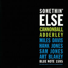 Cannonball Adderley SOMETHIN' ELSE Blue Note 75th Anniversary NEW VINYL LP