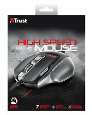 NEW TRUST USB GAMING MOUSE GXT25 ADJUSTABLE 800 DPI TO 2000 DPI