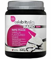 = 3 x Celebrity Slim Rapid Weight Loss 840g shakes (Mix & Match from 3 Flavours)