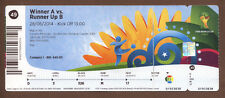Orig.Ticket   World Cup BRAZIL 2014    BRAZIL - CHILE    1/8 FINAL  !!  RARE