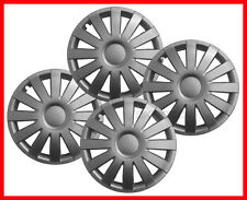 "15''  Hub caps Wheel trims for DACIA SANDERO  LOGAN MCV 4x15""  - silver"