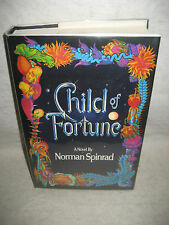 CHILD OF FORTUNE Norman Spinrad 1980s science fiction book 1st ed Bantam fantasy