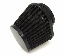 Black Performance Oval Pod Filter - 54mm - Honda CB/CM400/450 CX/GL500/650 CB650