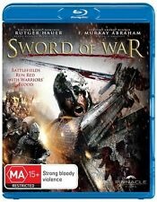 Sword of War Blu Ray Sword & Sandal Epic Rutger Hauer New