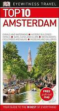 Amsterdam Travel Guide & Map (TOP 10 By Eyewitness) NEW BOOK LATEST EDITION