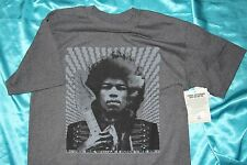 "SALE! Fender Jimi Hendrix ""Kiss The Sky"" Tee Shirt, Gray, Medium, MPN 9101376406"