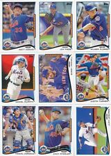 NEW YORK METS Complete 2014 Topps MINI 22 Card Team Set ONLINE EXCLUSIVE