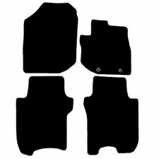 Honda Jazz 2008 - 2011 Black Tailored Fitted Car Mats Free Coloured Edging