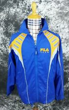Mens M Fila Team warm up track jacket spellout