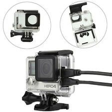 Side Open Skeleton Protective Housing Protective Case Cover Mount For GoPro Hero