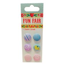 'Fun Fair by Helz Cuppleditch' Fabric Brads