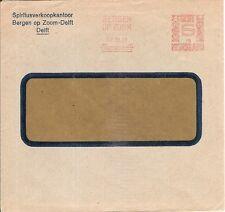 Netherlands first Meter stamp cover s UPF 19 1931 Spiritus Bergen op Zoom 6c