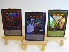 ~PROXY~ Orica Custom Egyptian Gods 3 Card Lot (Alternate Art) Ultra Rare