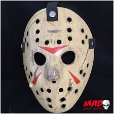 Deluxe Jason Voorhees Hockey Mask Part 3 Friday 13th Horror Film Collectible