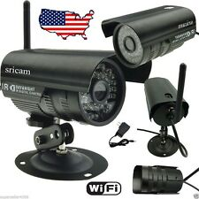 Wired Wireless P2P IP Camera IR Night Vision Free DDNS WiFi Outdoor Network Cam