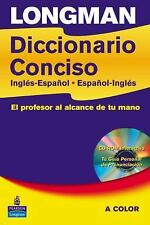 Longman Diccionario Concisco, Paper with CD-ROM (Schools Bilingual Dictionaries)