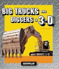 Big Trucks and Diggers in 3D by Mark Blum (2001, Novelty Book) FREE SHIPPING