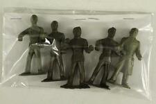 "Vintage MARX 2-5/8"" Plastic US Military Toy 5PC WWII ARMY MEN Figures 15 24 21"