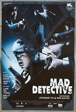 Affiche MAD DETECTIVE San Taam JOHNNIE TO Ching Wan La 40x60cm *