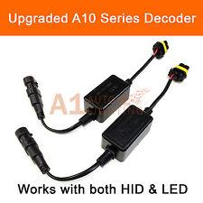 2x EMC H10 9145 Fog Light Canbus LED Decoder HID Kit Anti-Flicker Relay Resistor